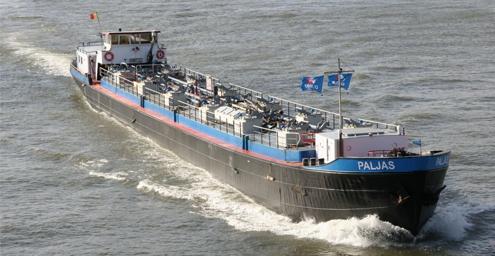 Magnesiumhydroxide voor scrubbers nu per binnenschip beschikbaar in Antwerpen en Rotterdam.